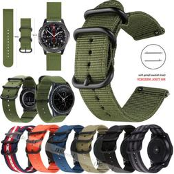 18 20 22mm Quick Release Nylon Canvas Fabric Band For Variou