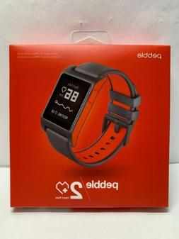 PEBBLE 2 HEART RATE SMART WATCH WORK WITH IPHONE OR ANDROID