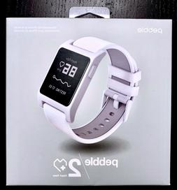 Pebble 2 HR New In Box Heart Rate Smartwatch for iPhone Andr