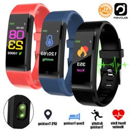 2 Pack Waterproof Fitness Tracker Sports Smart Watches Wrist