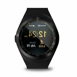 2018 Smart Watch Round with SIM Card Slot Camera MP4 Player