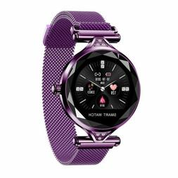 2019 Waterproof Women Lady Smart Watch Bracelet Sport Fitnes