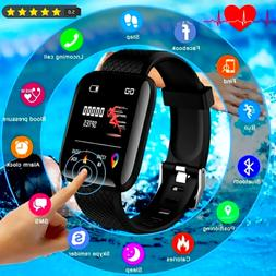 2021 Touch Smart Bracelet Women Men Heart Rate Watch For And