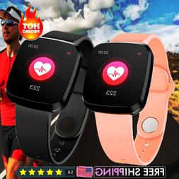 2021 Touch Smart Watch Women Men Heart Rate For iPhone Andro
