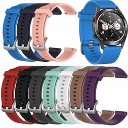 22mm Silicone Sport Wrist Watch Band Strap For Various Smart