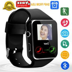 Bluetooth Smart Watch Unlocked Watch Cell Phone for Men Wome
