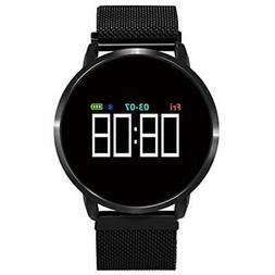 Collasaro Smart Band, Fitness Tracker Watch with Bluetooth a