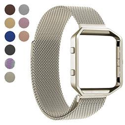 For Fitbit Blaze Accessory Band,Small ,Oitom Frame Housing+M
