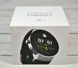 New Movado Connect Black Silicon Strap Men' s Smart Watch 36