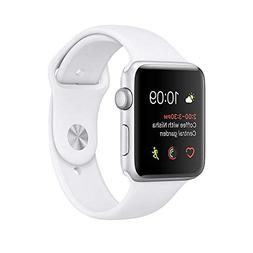 Refurbished Apple Watch Series 2, 42mm Silver Aluminum Case