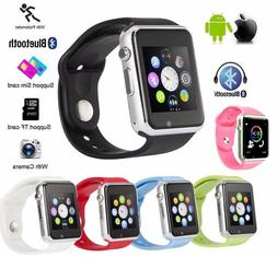 A1 Smart Watch Men Women Bluetooth Wrist Smartwatch Support