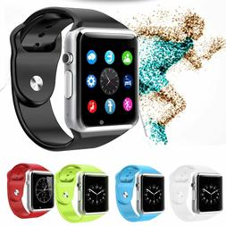 A1 Smart Wrist Watch Bluetooth GSM Phone For Android Samsung