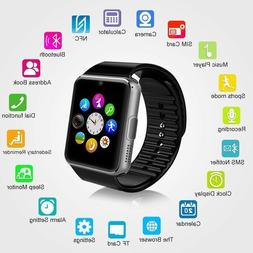 A1 W Smart Wrist Watch Bluetooth GSM Phone For Android Samsu