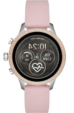 Michael Kors Access Glitz Silver & Rose Gold Pink Touchscree