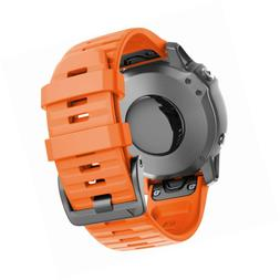 ANCOOL Compatible with Fenix 6 Bands 22MM Easy-fit Soft Sili