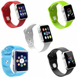 Android Samsung Iphone Kids Smart Watch Phone Bluetooth Moma