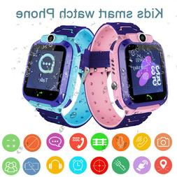 Anti-Lost GPS SOS SIM Kids Smart Watch Waterproof Smartwatch