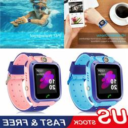 Anti-lost Smart Watch GPS Tracker SOS Call Safe Camera Water