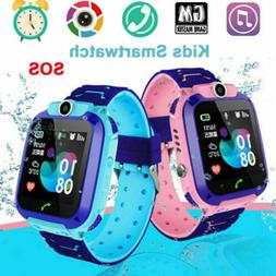 Anti-lost Smart Watch Safe SOS Call GSM SIM Camera Gifts Tra