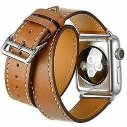 Apple Watch Band, 38mm IWatch Bands Genuine Leather Strap IP