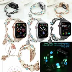 For Apple Watch Band iWatch Women Metal Strap 38mm 40mm 42mm