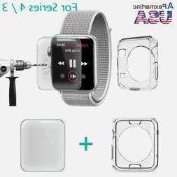 For Apple Watch Series 4 / 3 9H Full Cover Screen Protector