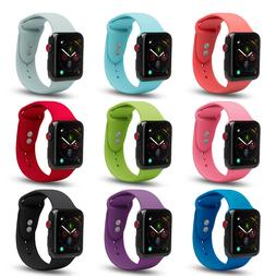 Apple Watch Soft Silicone Sport Strap Loop Replacement Band