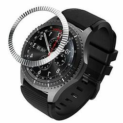 Bezel Ring Compatible with Samsung Gear S3/Galaxy Watch 46mm