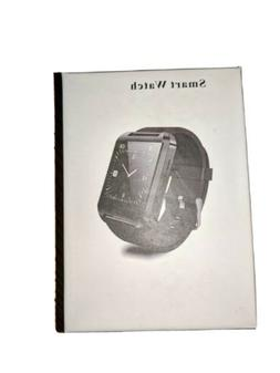 FUTURE WORLD ELECTRONICS BLACK SMART WATCHES COMPATIBLE WITH