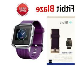 Fitbit Blaze FB502 Smart Fitness Watch Activity Tracker Purp