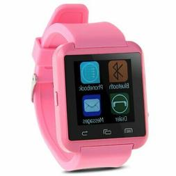 Padgene Bluetooth 4.0 Smart Watch for Smartphones - Pink