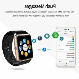Bluetooth ANCwear Smartwatch for Android Phones SIM Card - A