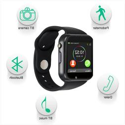 Padgene Bluetooth Smart Android Watch with Camera, music,ped