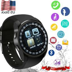 Bluetooth Smart Watch Black Men Watch For Android Samsung S9