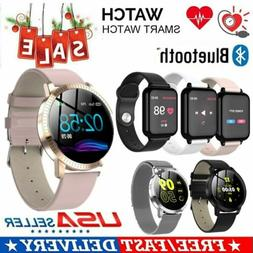 Bluetooth Smart Watch Bracelet Heart Rate Blood Pressure Fit