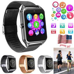 Bluetooth Smart Watch Cell Phone for Android Samsung Galaxy