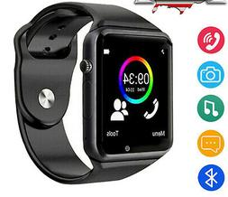 Bluetooth Smart Watch Phone with Mic Speaker Camera For Wome