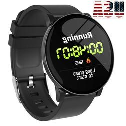 Bluetooth Smart Watch Sports Pedometer for Men Women Samsung