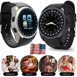 Bluetooth Smart Watch Unlocked Cell Phone Watch For Android
