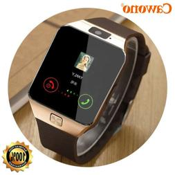 Blue-tooth Smart Watch w/Camera Waterproof Phone Mate for An