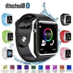 Bluetooth Smart Watch w/ Camera Waterproof Phone Mate For An