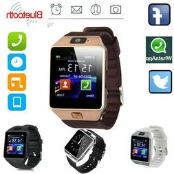 Bluetooth Smart Watch w/ Camera Smartwatch Phone For iPhone