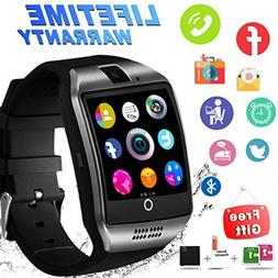 Bluetooth Smart Watch with Camera Sim Card Slot Touch Screen