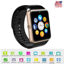 Bluetooth Smart Watch Wristband GSM Phone for Android Samsun