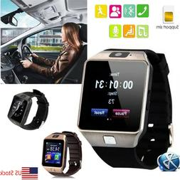 Bluetooth Smart Watch Wristwatch With Camera For Android Sam