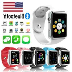 Bluetooth Smart Wrist Watch A1 GSM Phone For Android Samsung