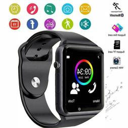 Bluetooth Smart Wrist Watch A1 w/Camera GSM Phone For iPhone