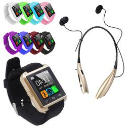 Bluetooth Smart Wrist Watch Phone For Android Samsung LG wit