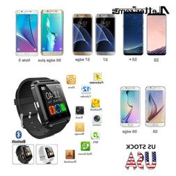 Bluetooth Smart Wrist Watch Phone Mate For IOS/Android iPhon