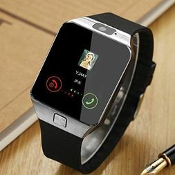Bluetooth Wrist Fitness Smart Watch GSM SIM Phone For Androi